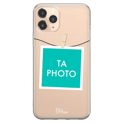 Coque avec photo encadrée pour iPhone 11 Pro