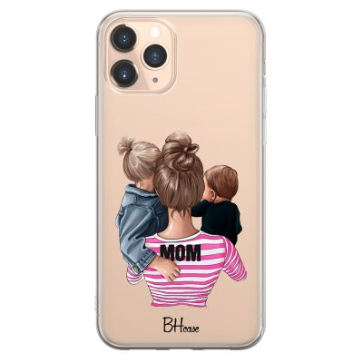 Mom Of Boy And Girl Coque iPhone 11 Pro Max