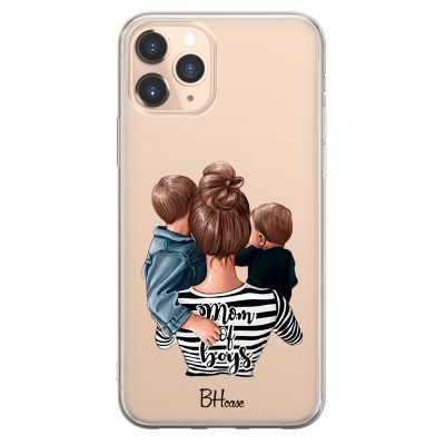 Mom of Boys Coque iPhone 11 Pro