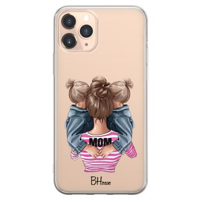 Mom Of Girl Twins Coque iPhone 11 Pro Max