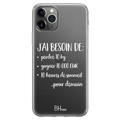 J'ai Besoin De Coque iPhone 11 Pro