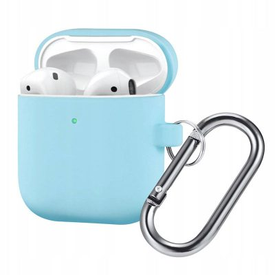 Silicone Protective Coque For Airpods Sky Blue