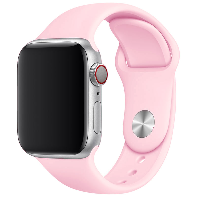 Silicone Bracelet Apple Watch 42/44mm Spanish Pink Sand Large