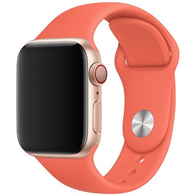 Silicone Bracelet Apple Watch 42/44mm Clementine Large