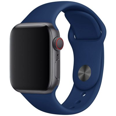 Silicone Bracelet Apple Watch 42/44mm Cobalt Blue Large