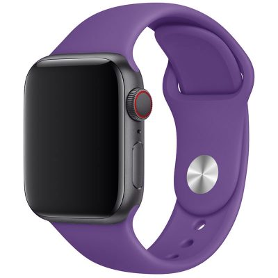Silicone Bracelet Apple Watch 42/44mm Purple Large