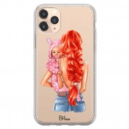 Mother Redhead With Girl Coque iPhone 11 Pro Max