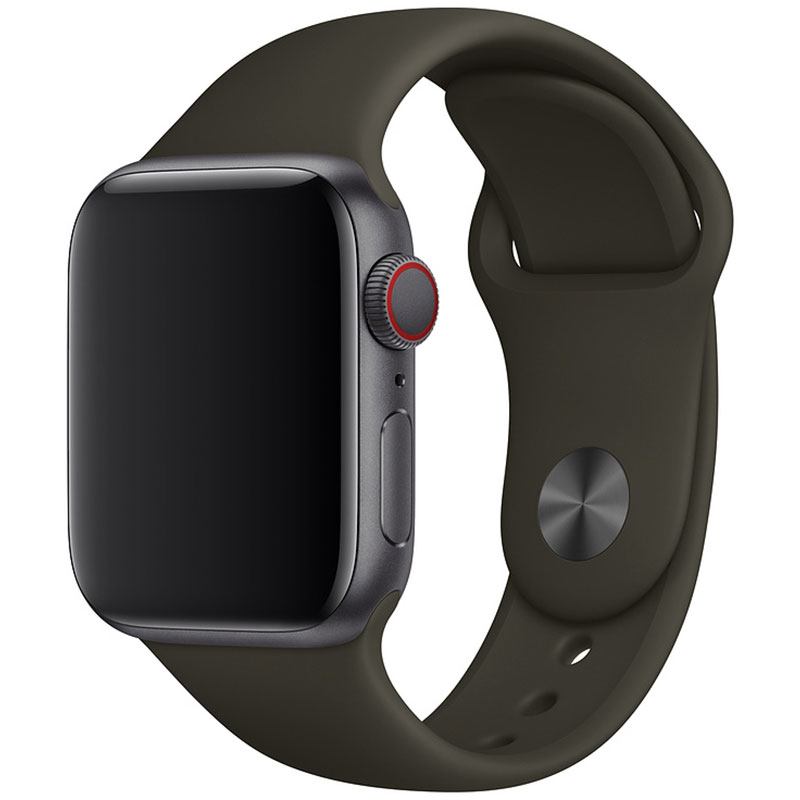 Silicone Bracelet Apple Watch 42/44mm Cocoa Small