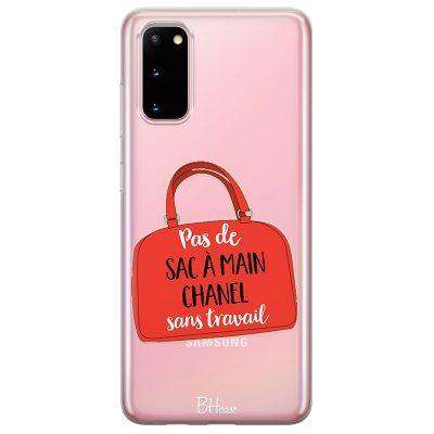 Pas De Sac À Main Chanel Sans Travail Coque Samsung S20