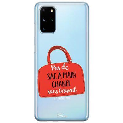Pas De Sac À Main Chanel Sans Travail Coque Samsung S20 Plus