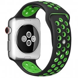 Sport Bracelet Apple Watch 38/40mm Black/Green Large