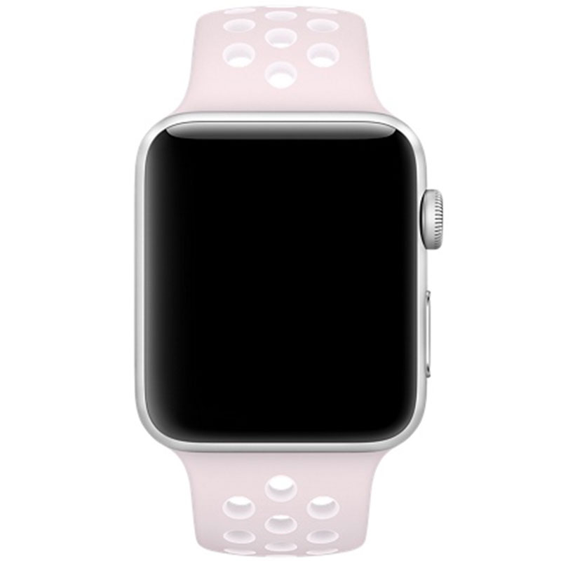 Sport Bracelet Apple Watch 38/40mm Pink/White Large