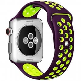 Sport Bracelet Apple Watch 42/44mm Purple/Green Small