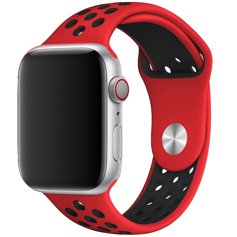 Sport Bracelet Apple Watch 42/44mm Red/Black Large