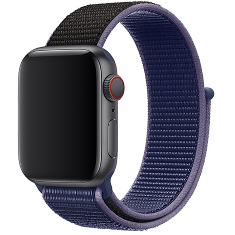 Nylon Bracelet Apple Watch 42/44mm Midnight Blue
