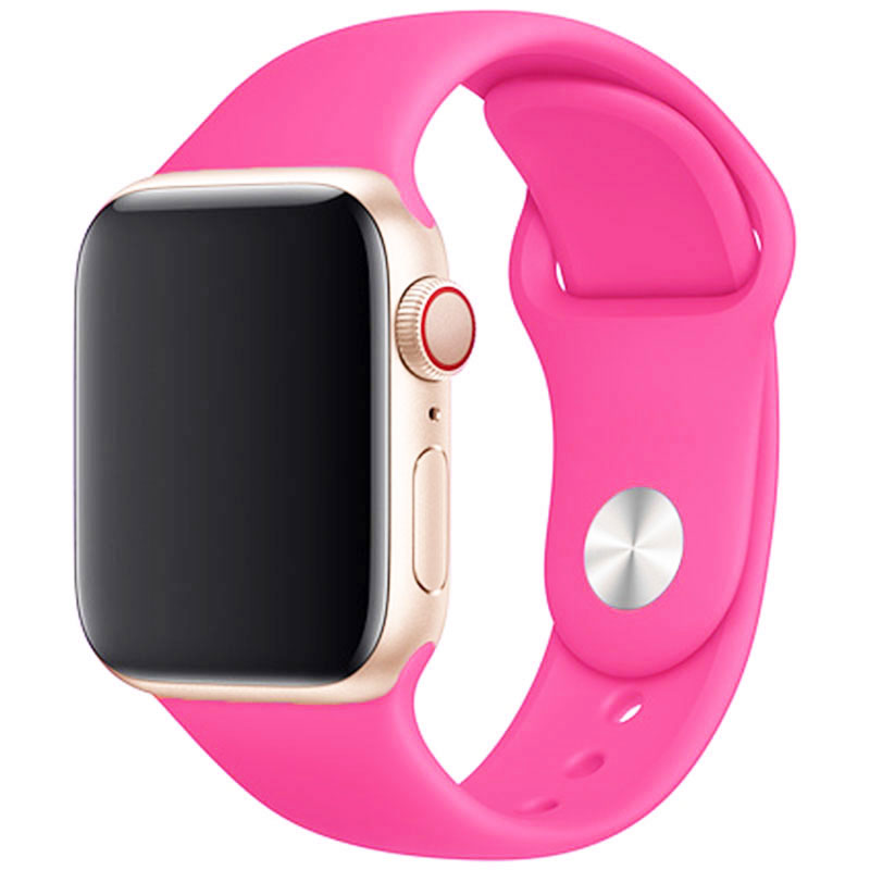 Silicone Bracelet Apple Watch 42/44mm Barbie Powder Large
