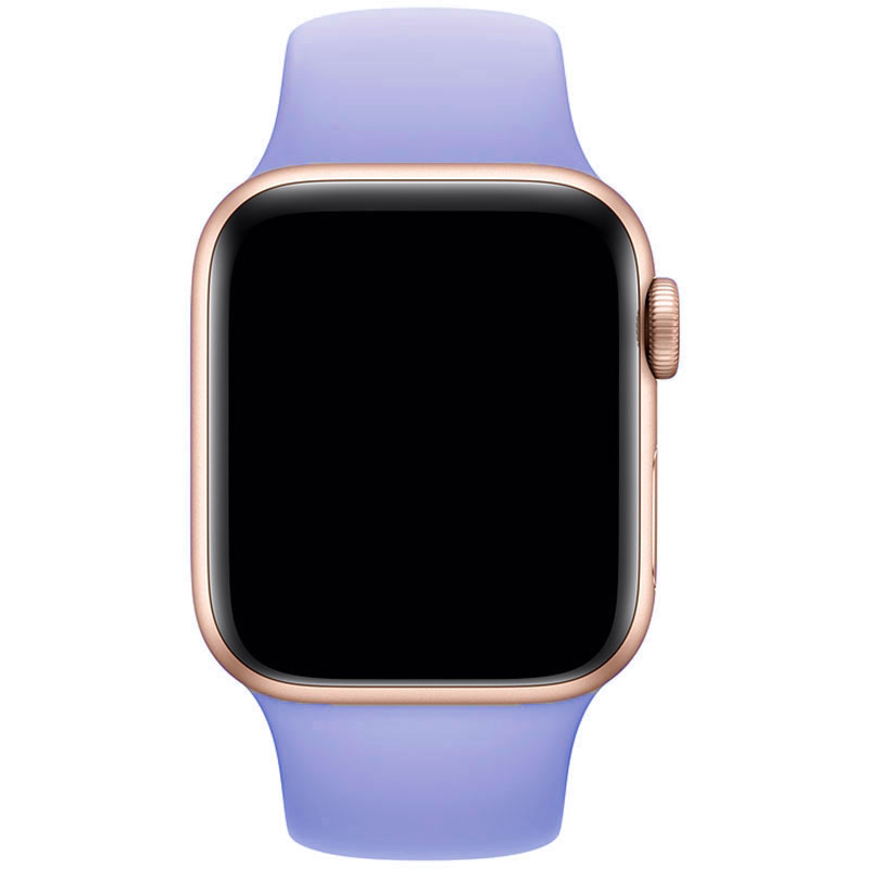 Silicone Bracelet Apple Watch 42/44mm Lilac Large