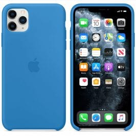 Apple Surf Blue Silicone Coque iPhone 11 Pro