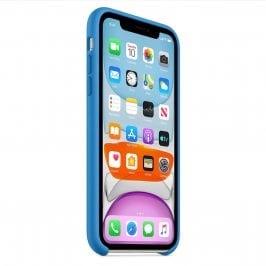 Apple Surf Blue Silicone Coque iPhone 11
