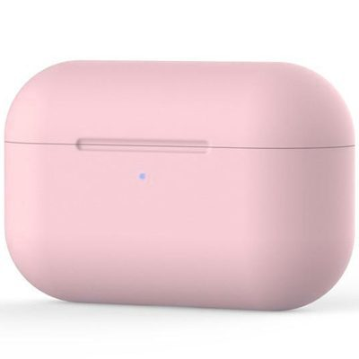 Silicone Protective Coque For Airpods Pro Pink Light