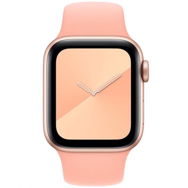 Silicone Bracelet Apple Watch 38/40mm Grapefruit Small