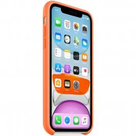 Apple Vitamin C Silicone Coque iPhone 11