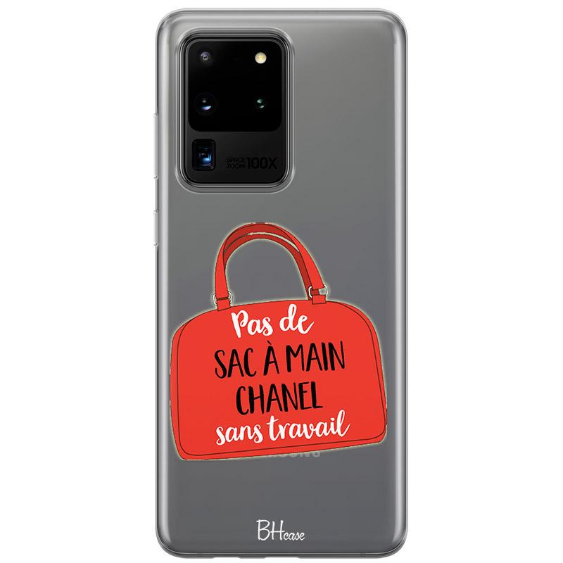 Pas De Sac À Main Chanel Sans Travail Coque Samsung S20 Ultra