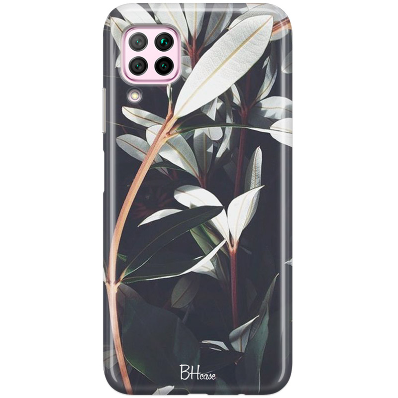 Dark Leaves Coque Huawei P40 Lite