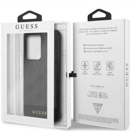 Guess 4G Stripe Grey Coque Samsung S20 Ultra