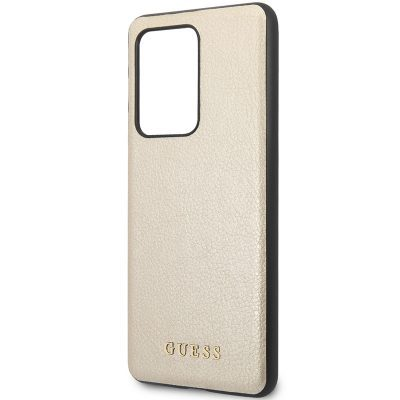 Guess Iridescent Gold Coque Samsung S20 Ultra