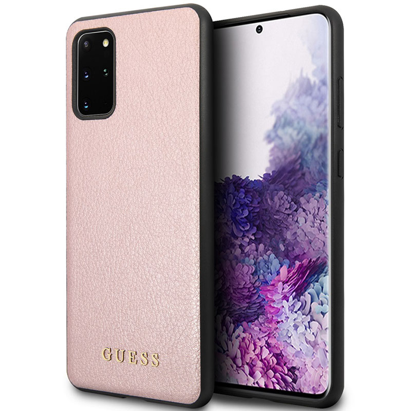 Guess Iridescent Rose Coque Samsung S20 Plus