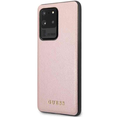 Guess Iridescent Rose Coque Samsung S20 Ultra