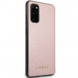 Guess Iridescent Rose Coque Samsung S20