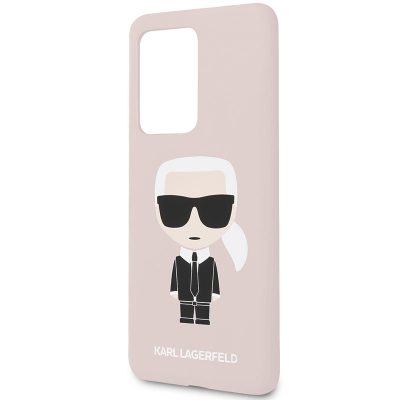 Karl Lagerfeld Full Body Pink Coque Samsung S20 Ultra