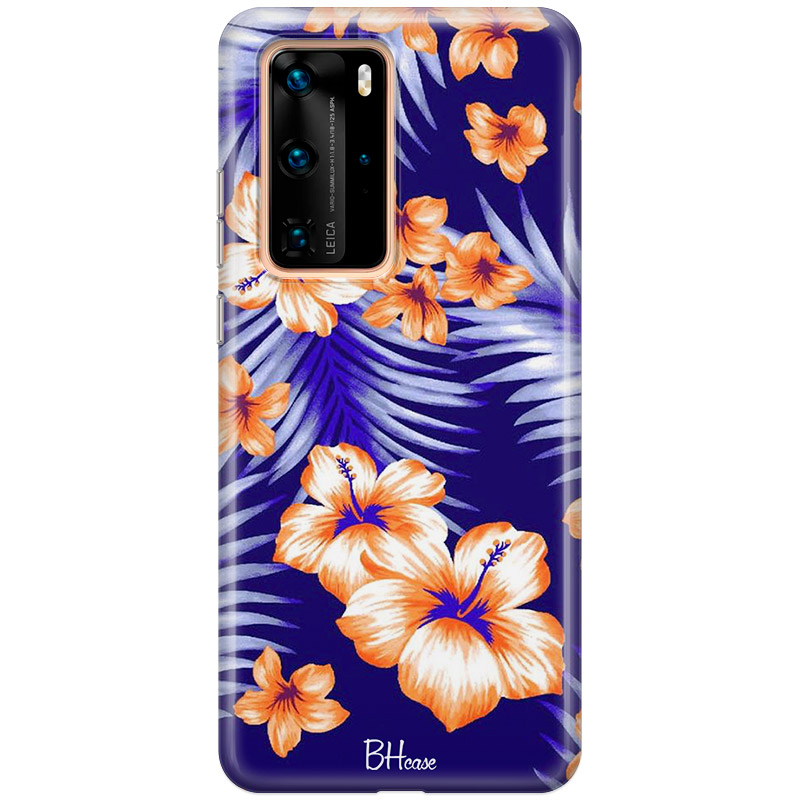 Night Floral Coque Huawei P40 Pro