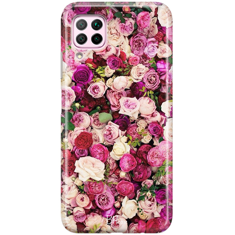 Roses Pink Coque Huawei P40 Lite