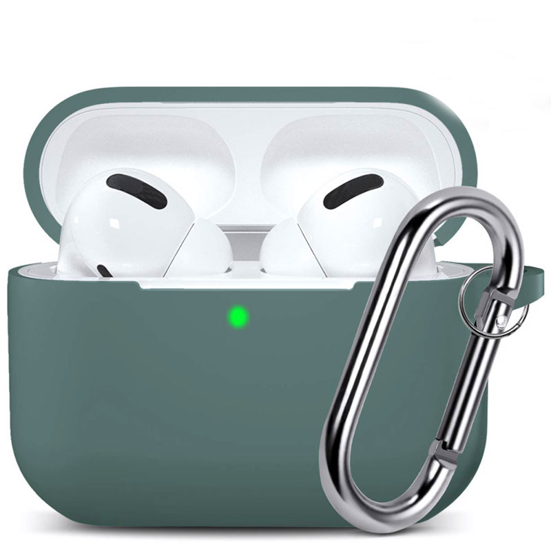 Silicone Coque Airpods Pro Protective Pine Green