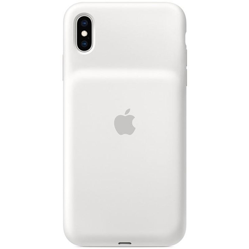 Apple Smart Battery White Coque iPhone XS