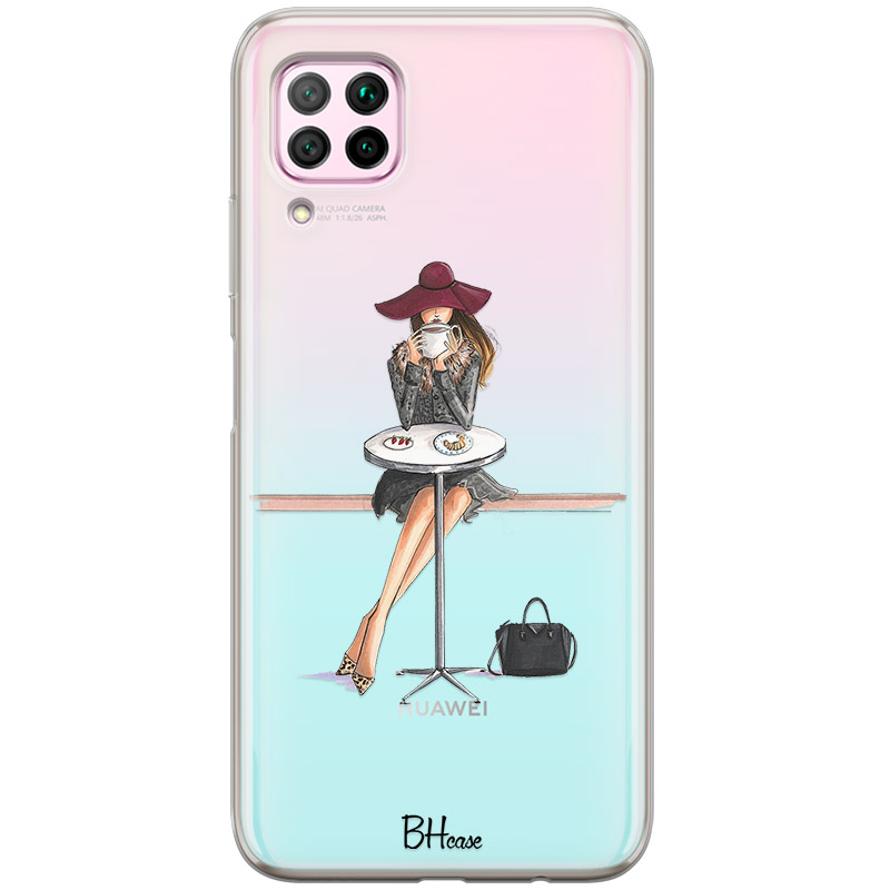 Coffee Girl Coque Huawei P40 Lite