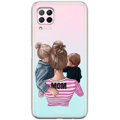 Mom Of Boy And Girl Coque Huawei P40 Lite/Nova 6 SE