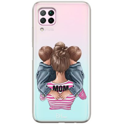 Mom Of Boy Twins Coque Huawei P40 Lite/Nova 6 SE