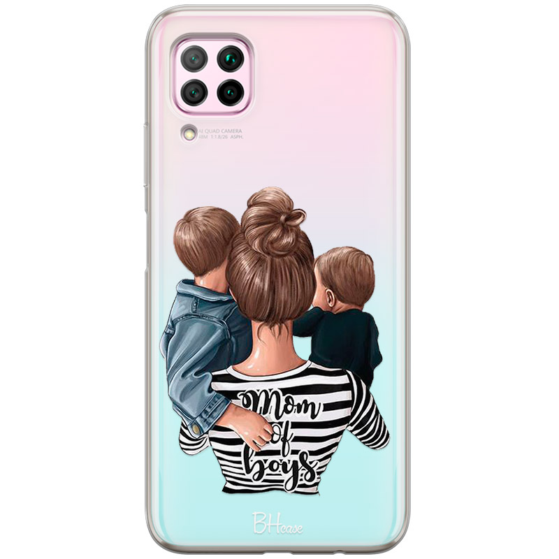 Mom of Boys Coque Huawei P40 Lite
