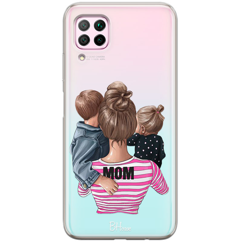 Mom Of Girl And Boy Coque Huawei P40 Lite