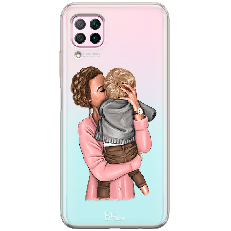 Mom With Baby Coque Huawei P40 Lite