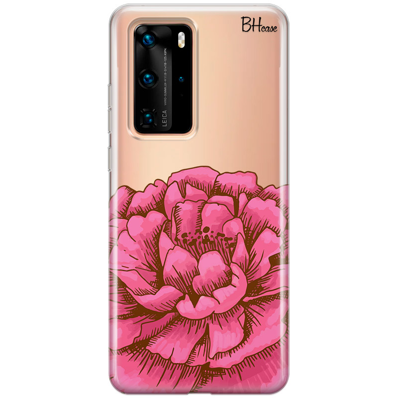 Peony Pink Coque Huawei P40 Pro