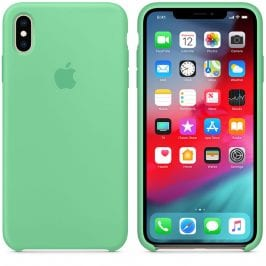 Apple Spearmint Silicone Coque iPhone XS Max
