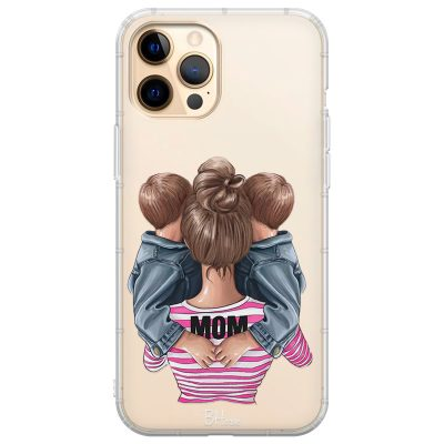 Mom Of Boy Twins Coque iPhone 12 Pro Max